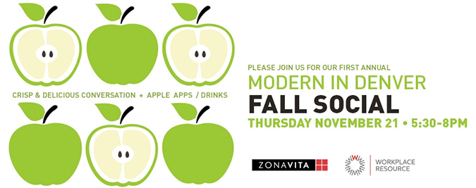 ... Attend Modern In Denveru0027s First Annual Fall Social, Thursday, November  21, 5:30 U2013 8:00 P.m. Here At The New Zonavita Showroom At Kitchens At The  Denver.